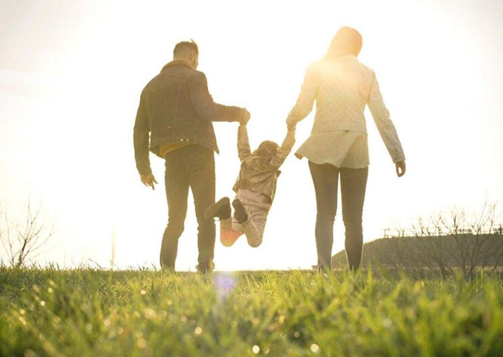 οικογένια στην φύση