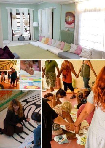 ομαδική ψυχοθεραπεία τέχνη Έντεχνη Δράση Art therapy Μέσω τέχνης Σαμάνικη Διδασκαλία